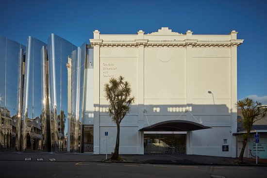 New Plymouth, New Zealand: The Len Lye Centre is at the Govett-Brewster Art Gallery. The entrance is on Queen St.