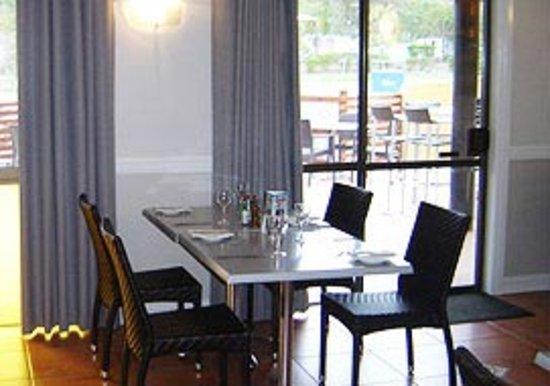 Mundubbera, Australia: Air conditioned dining room