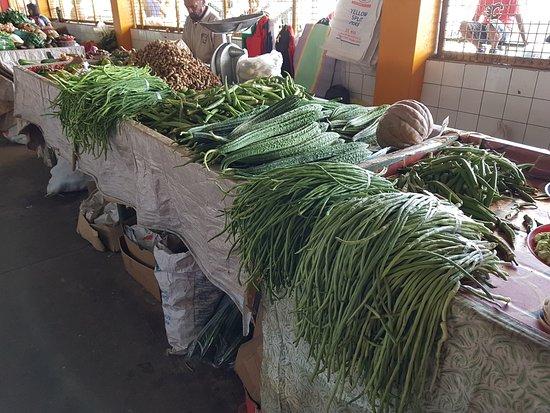 Suva Municipal Market: fagiolini giganti