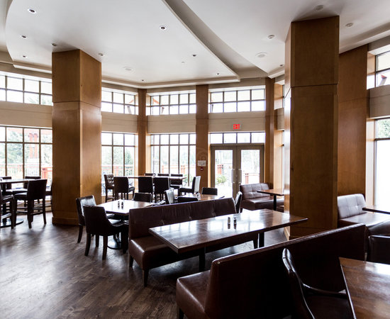 Breakfast Room at the Pan Pacific Whistler Village Centre