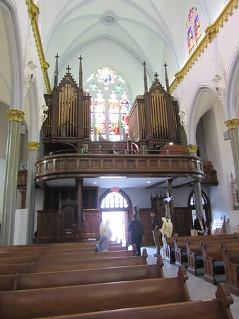 Basilica Of The Immaculate Conception Jacksonville Interior