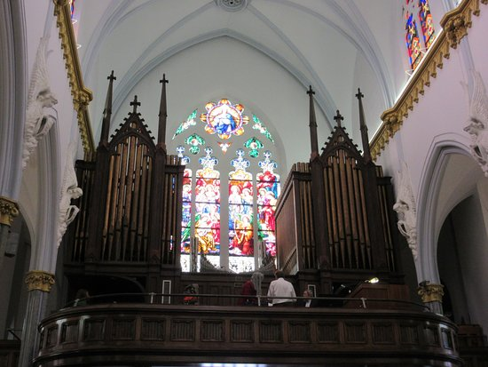 Basilica Of The Immaculate Conception Jacksonville Organ Loft