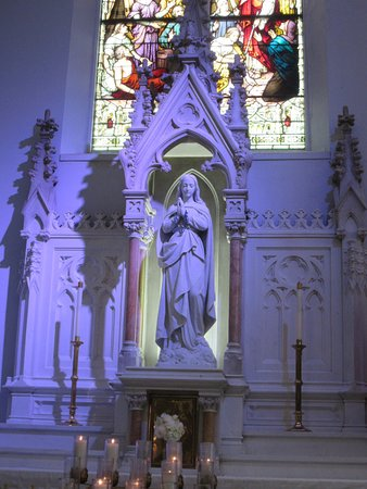 Basilica Of The Immaculate Conception Jacksonville Statue Of Mary