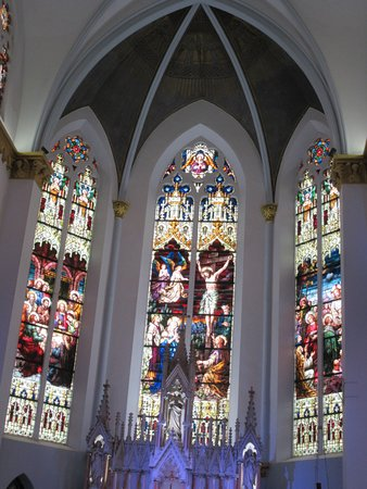 Basilica Of The Immaculate Conception Jacksonville Sanctuary Stained