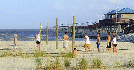 Beach Volleyball In Waveland