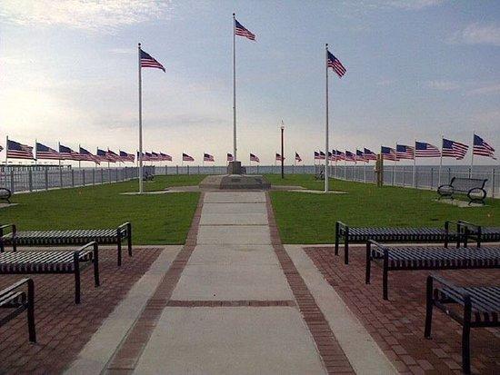 Veterans Monument in Waveland