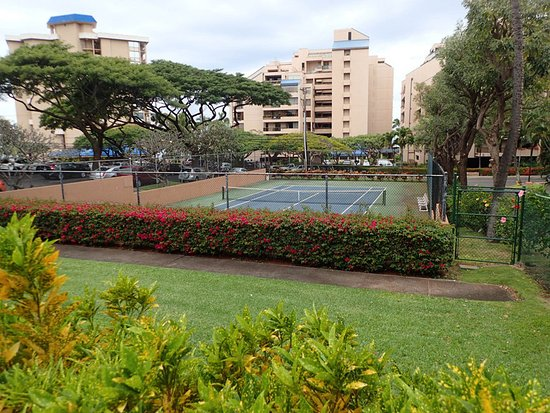 Kahana Villa Resort: tennis courts