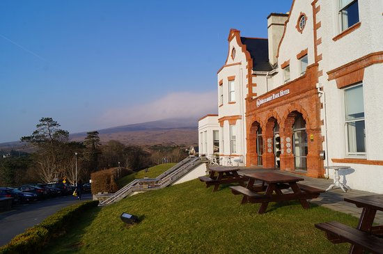 Mulranny Park Hotel: View from the front of the hotel