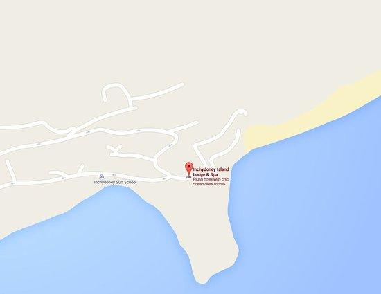 Inchydoney Island Lodge & Spa: Map