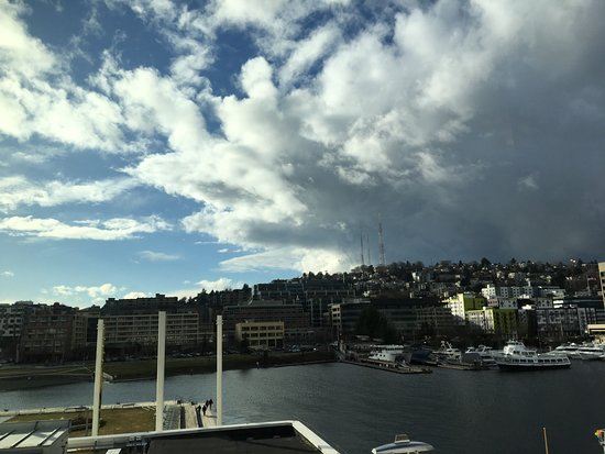 Museum of History & Industry : View of Lake Union from 4th floor