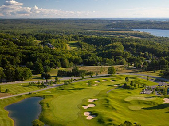 Bellaire, MI: Golf course