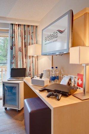 Hotel Aristella swissflair : Guest room
