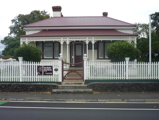 Tauranga, New Zealand: Brain Watkins House Museum