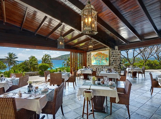 Petit St. Vincent Resort: Restaurant