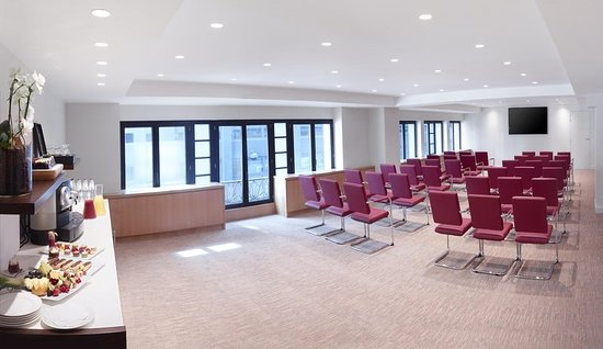 Hilton Brussels City: Meeting room
