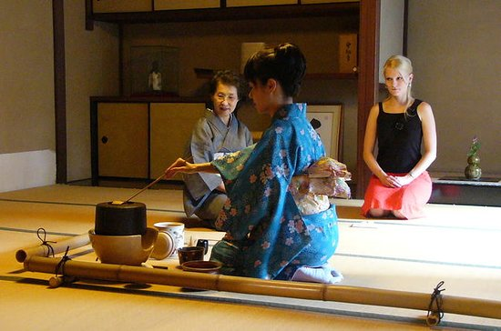 Japanese Tea Ceremony with a Tea...