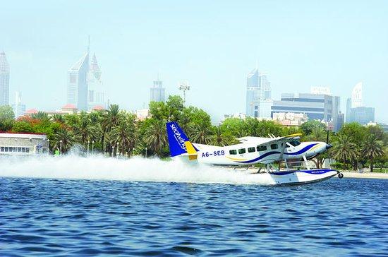 Seaplane flight Dubai to Abu Dhabi and Louvre Abu Dhabi experience