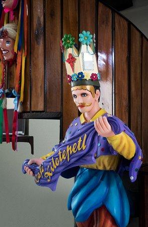 Escultura del Diablito, baile tradicional de Jinotepe.