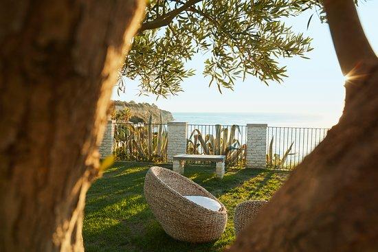 Santa Domenica, Italy: sea view garden