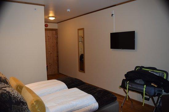 Flamsbrygga Hotell: Entry area