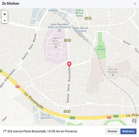 ZE Kitchen: Où nous trouver.
