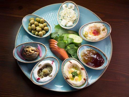 فطور بيت مسك التقليدي Beit Misk Traditional Platter Picture Of