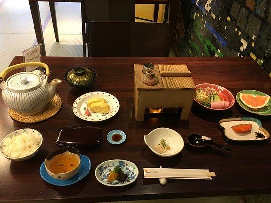 Nishiyama Ryokan: Breakfast