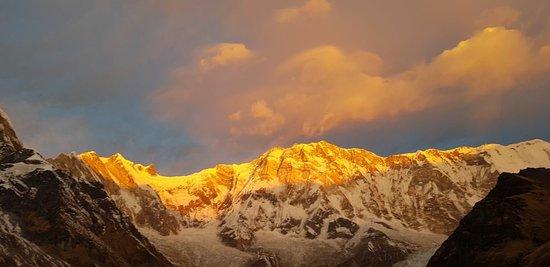 Annapurna Region, نيبال: Annapurna Mountain Range