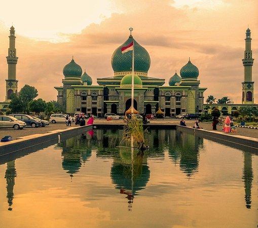 Masjid An Nuur Icon Pekanbaru Riau Ulasan Mesjid Raya An Nur Pekanbaru Indonesia Tripadvisor