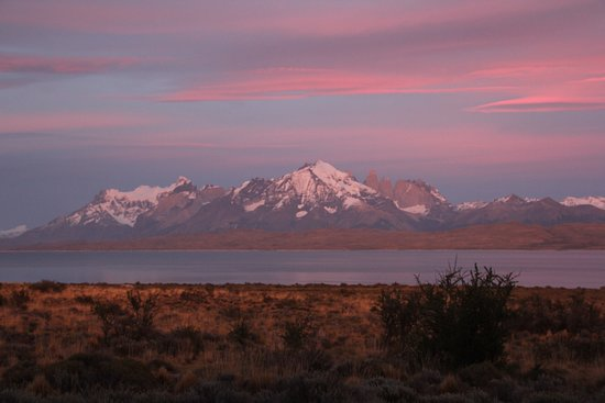 Tierra Patagonia Hotel & Spa: view from our room at sunrise