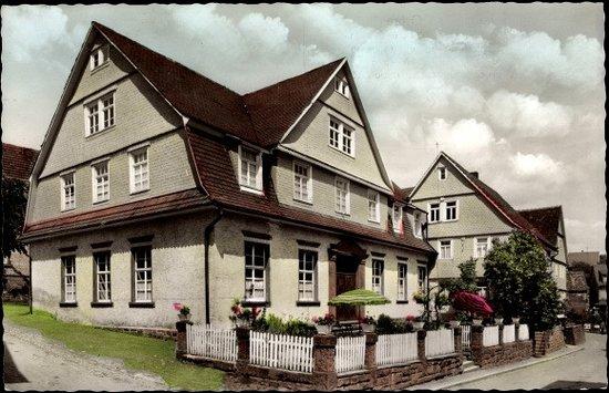Grasellenbach, Germany: historische Postkarte von vor 100Jahren