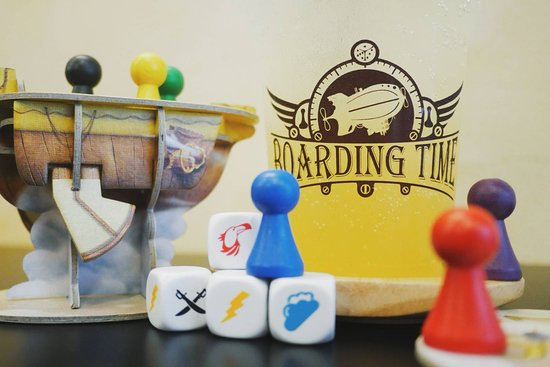 ‪Boarding Time Board Game Cafe‬