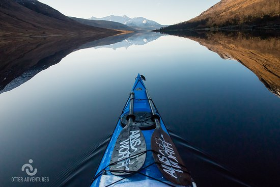 Strontian, UK: Stunning conditions for sea kayaking on sheltered lochs.