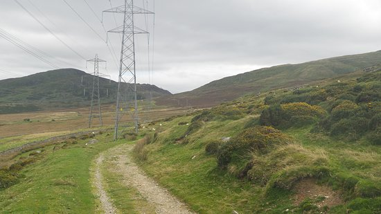 Abergwyngregyn, UK: The paths in this section are great for walking