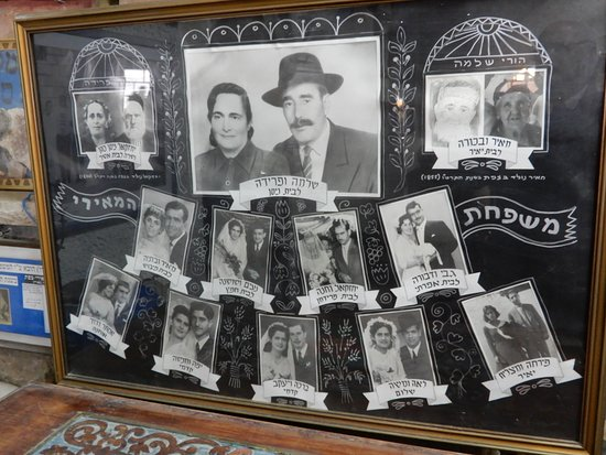 Safed, Israel: photos de 3 generations