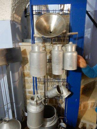 Hameiri Cheese Factory: ustenciles de lait