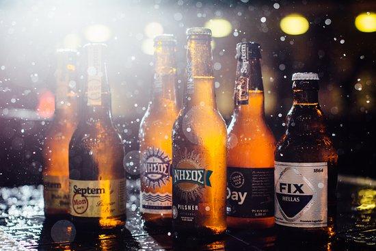 Cuzina Bar & Eatery: Greek Craft Beers