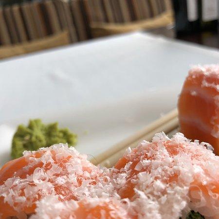 Hairy sushi