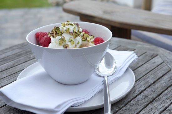 Saltwater Bed and Breakfast: Healthy breakfast choices