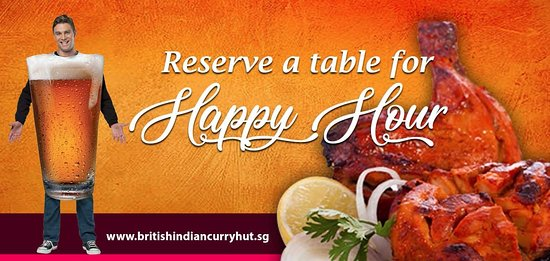 Reserve A Table For Happy Hour Get Special Discount With Minimum - The table happy hour