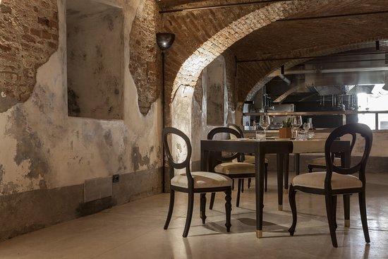 La nostra sala ristorante con la cucina a vista - Bild von ...