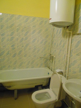 Nerekhta, Russland: Собственный совмещенный санузел есть в каждом номере