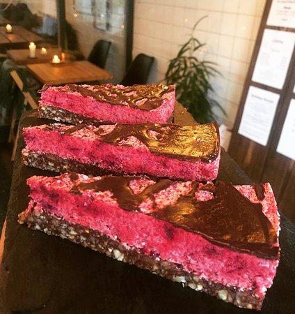 Valby, Danemark : Beetroot Chocolate Raw cake