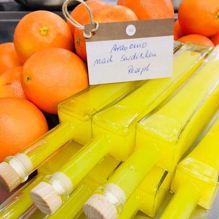 Остфильдерн, Германия: Hausgemachter Arancino nach sardischem Rezept.
