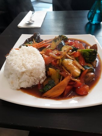 Natthanicha Thai Küche | mein sehr leckeres mittagsmenu