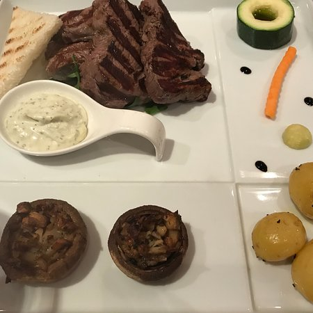 Ambrosia seafood dishes picture of ambrosia restaurant for Ambrosia mediterranean cuisine
