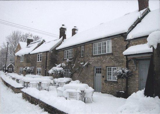Kidlington, UK: Winter at the Bell