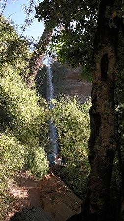 Mulchen, ชิลี: Vista desde bifurcación hacia el Salto.