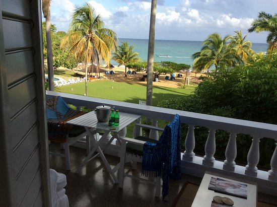 Jamaica Inn: The view from our room