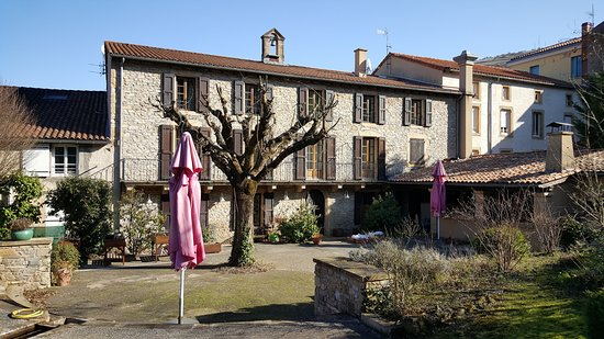 "Saint-Rome-de-Tarn, Francja: Restaurant ""Les Raspes"""